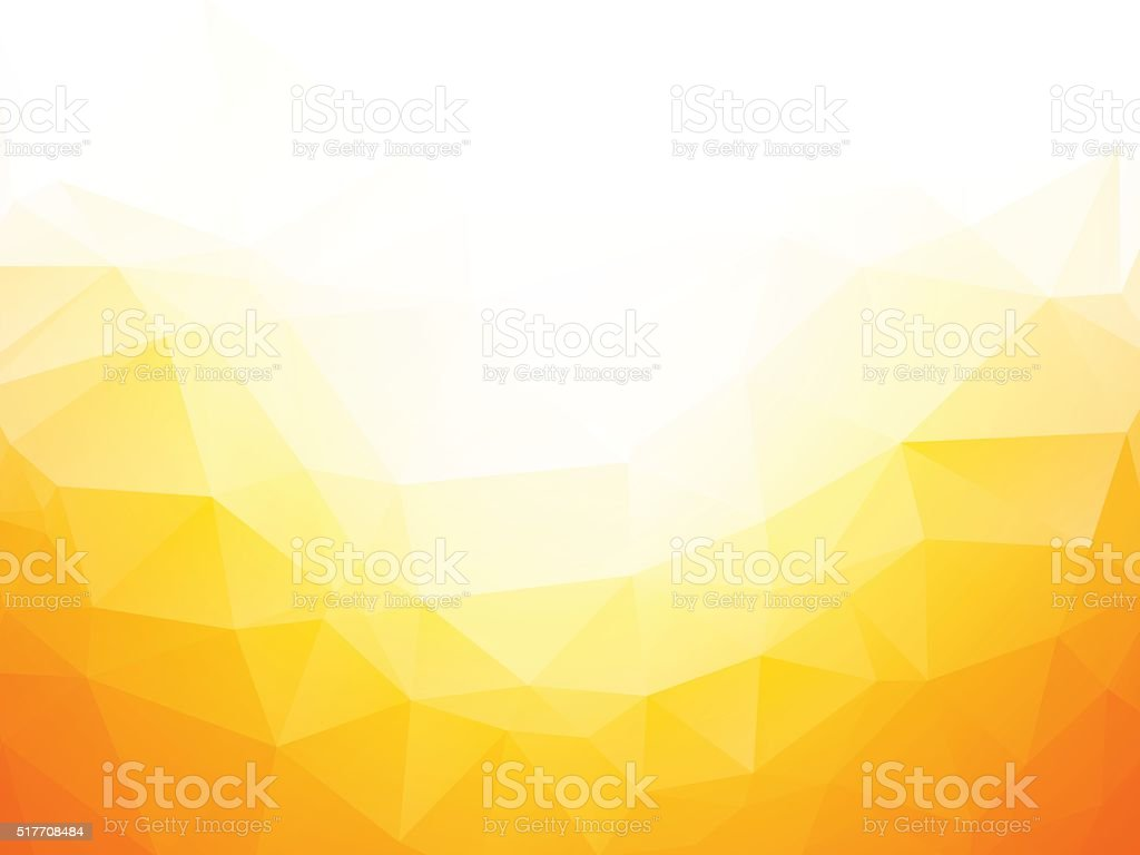 Geometric yellow texture background vector art illustration