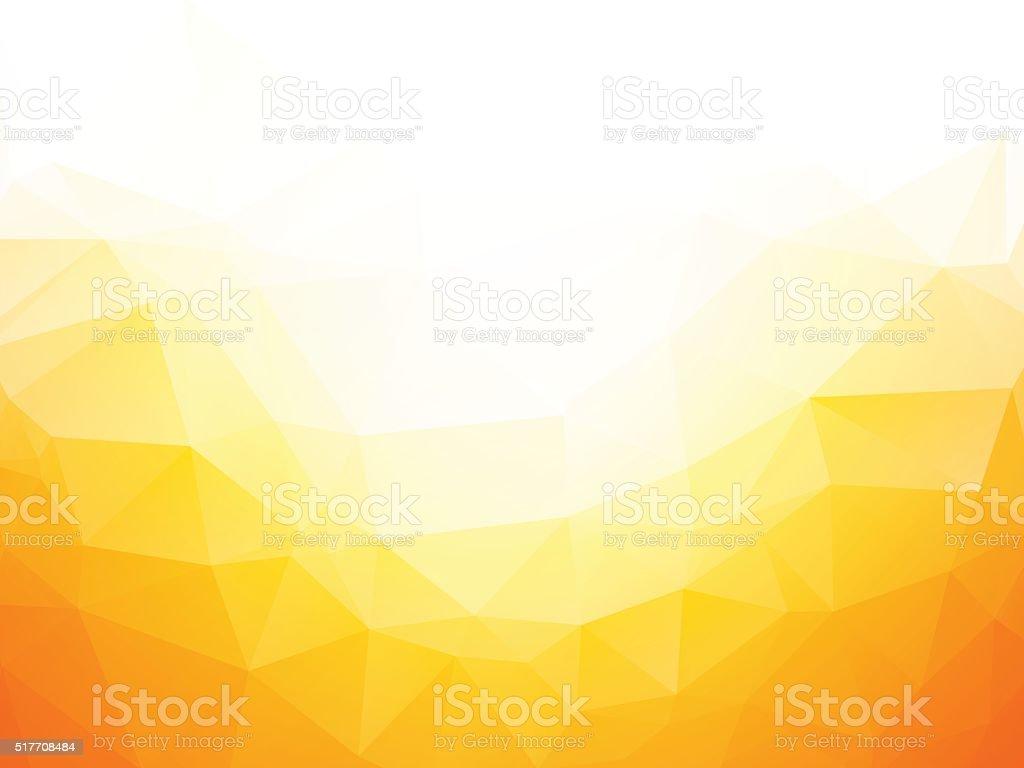 Geometric yellow texture background vector art illustration