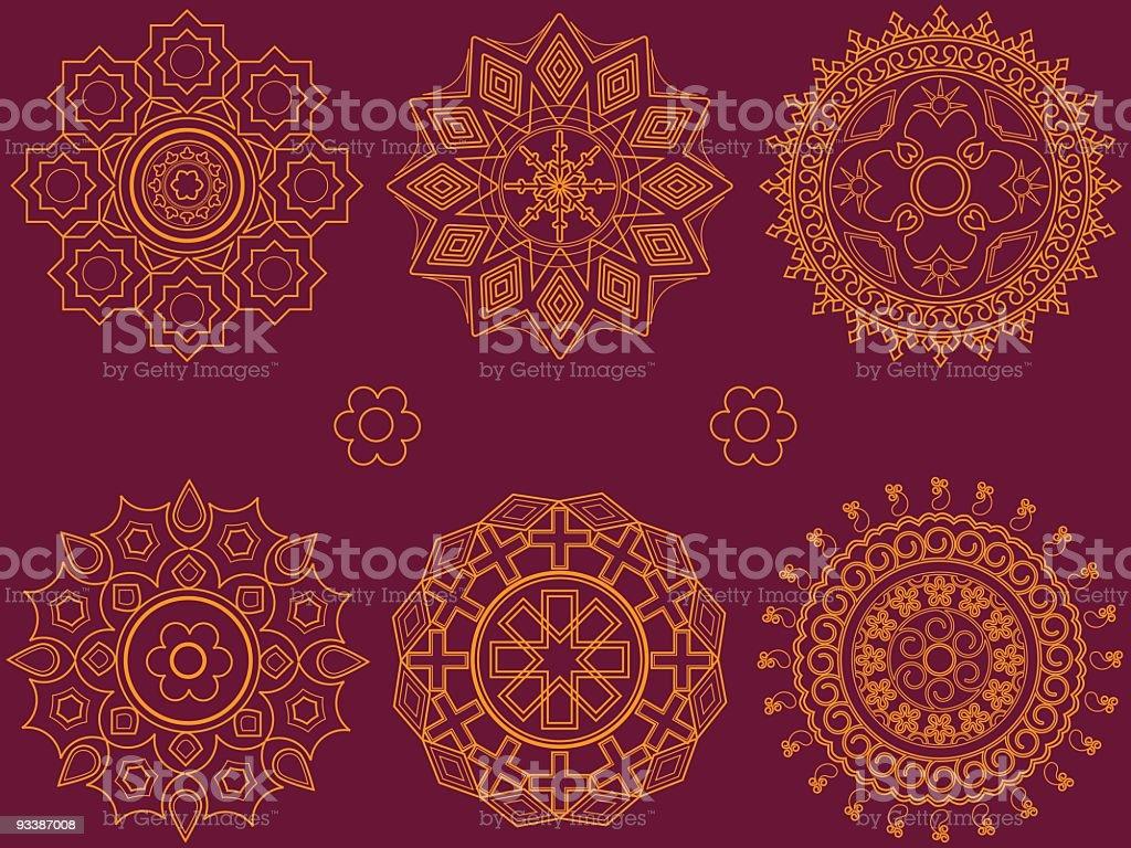 Geometrical Design vector art illustration