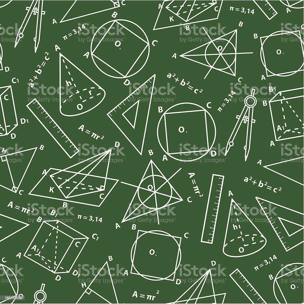 Geometry background. vector art illustration