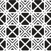 Geometry seamless vector pattern