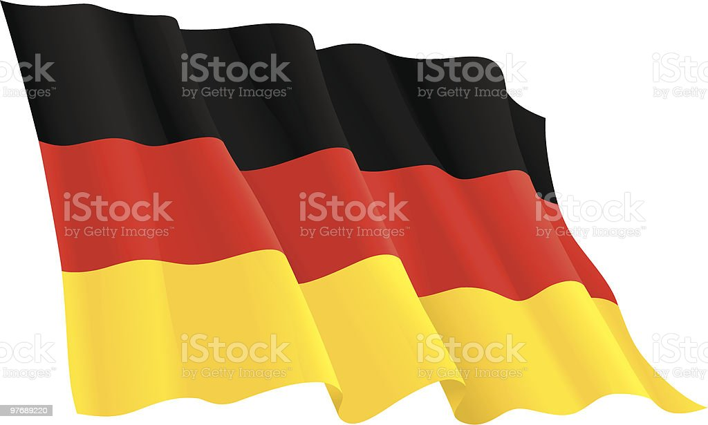 german flag royalty-free stock vector art