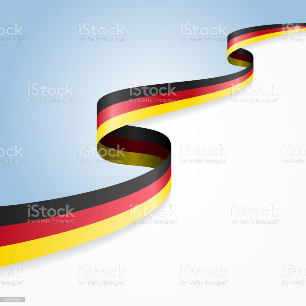 Germany flag background. Vector illustration vector art illustration