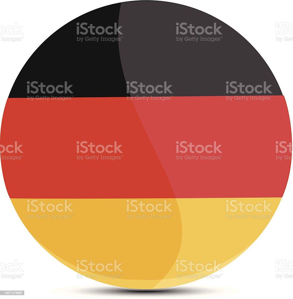 Germany flag royalty-free stock vector art