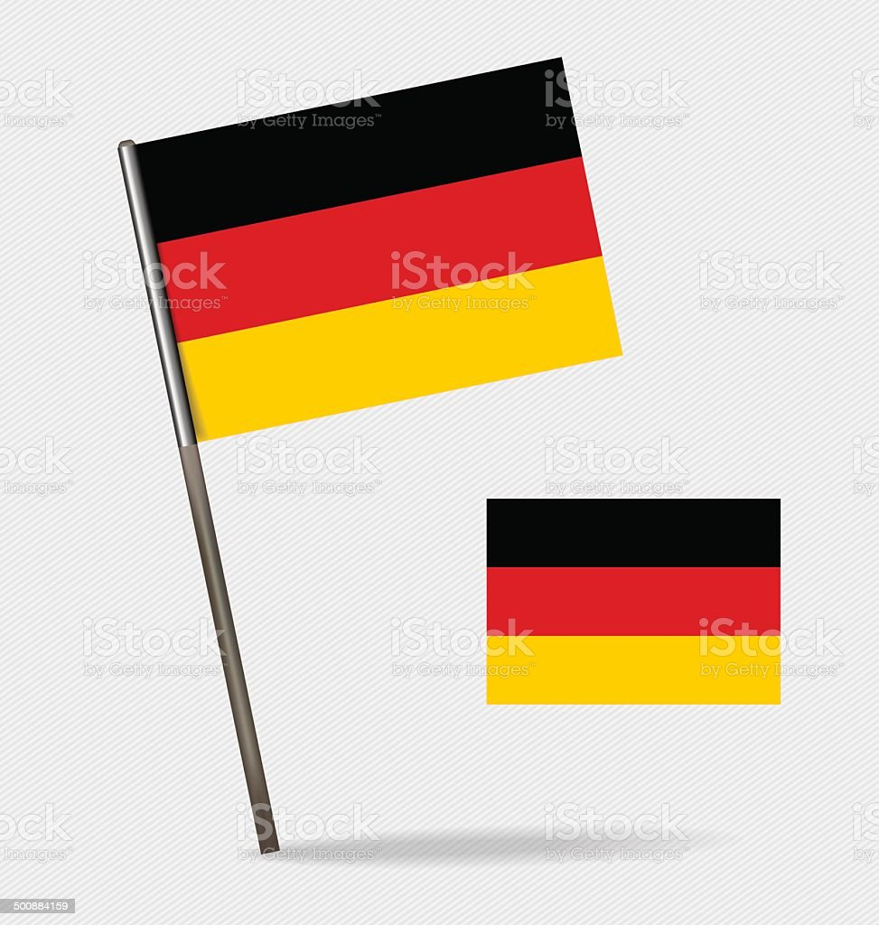 Germany, Flags concept design. Vector illustration. royalty-free stock vector art