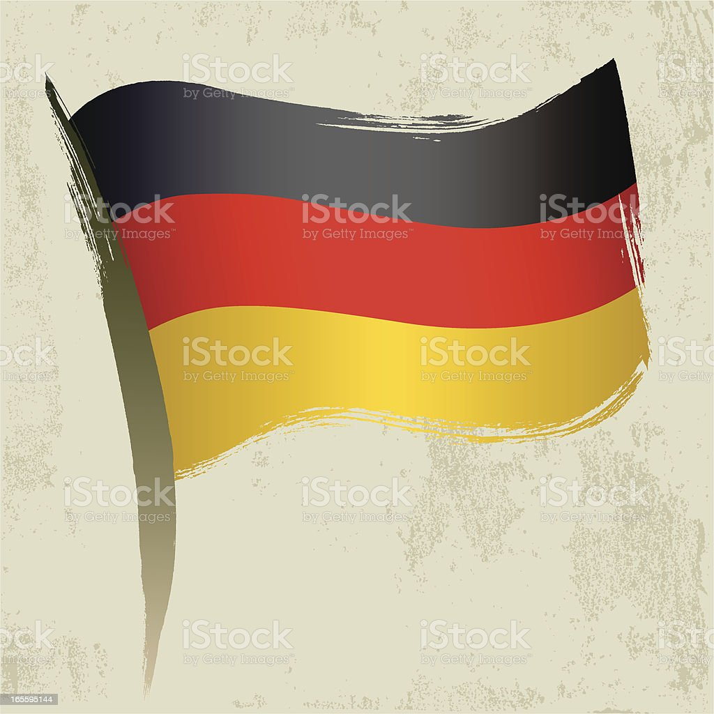 Germany National Flag royalty-free stock vector art