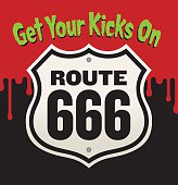 Get Your Kicks On Route 666