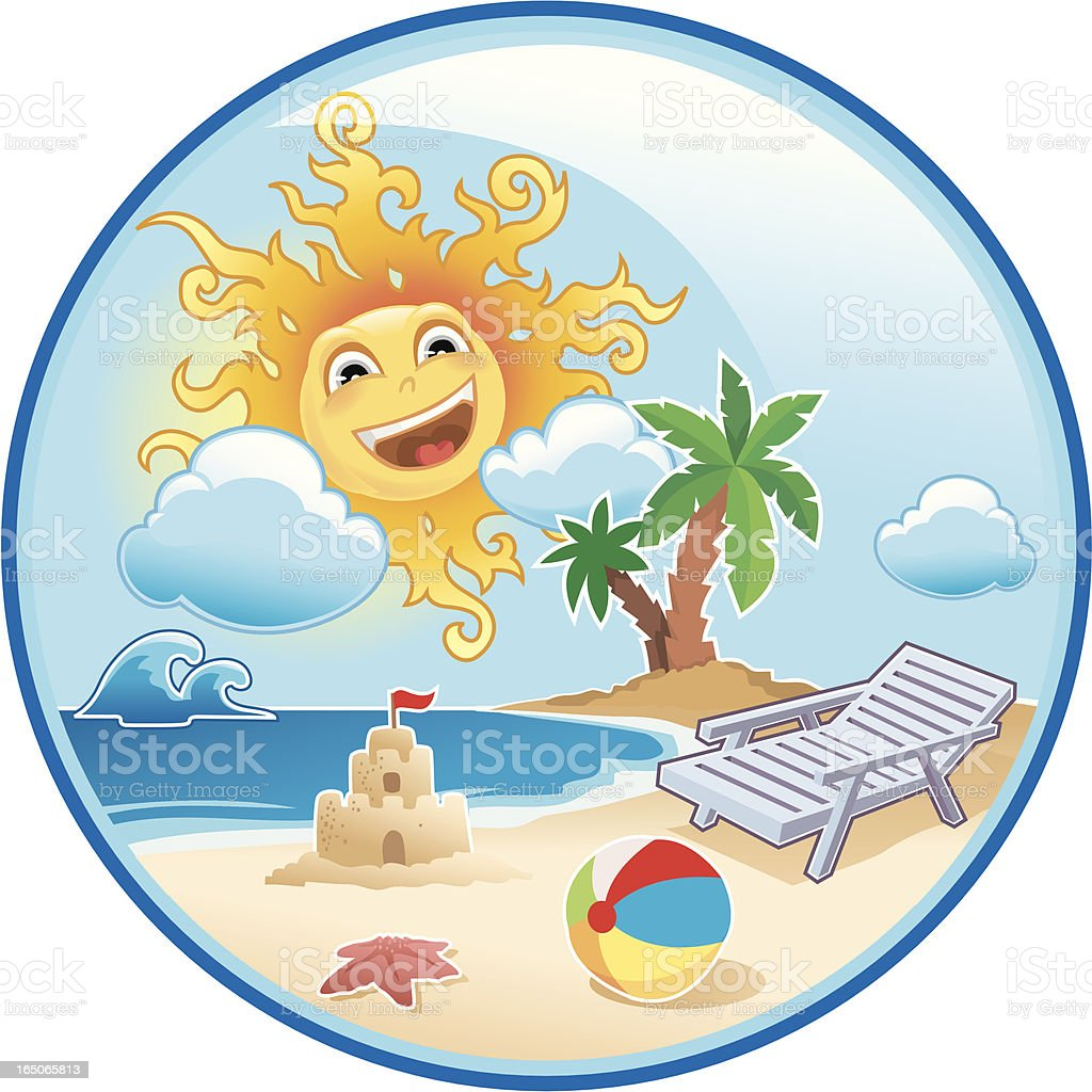 getting ready for summer... royalty-free stock vector art