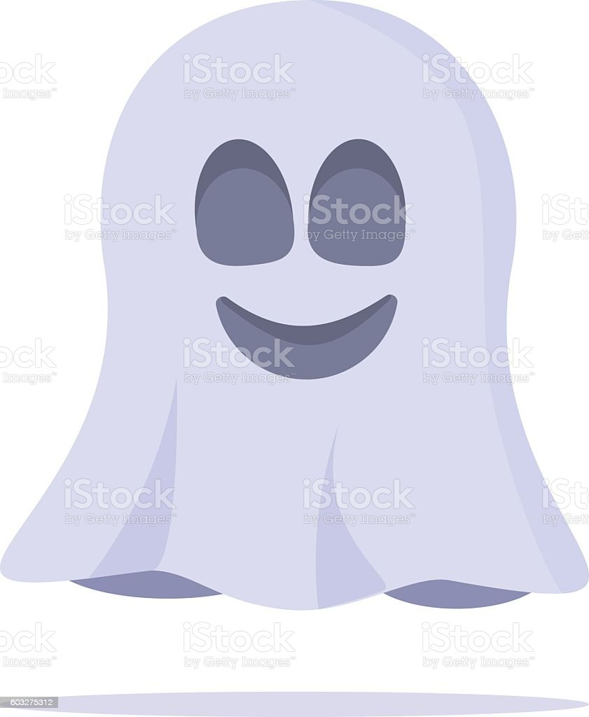 Ghost Character. Vector illustration vector art illustration