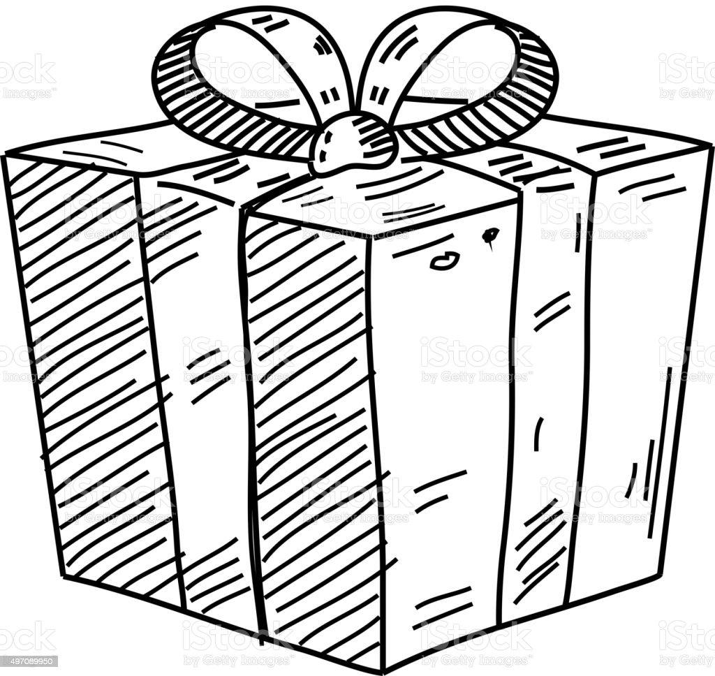 Подарок рисунок графика 75