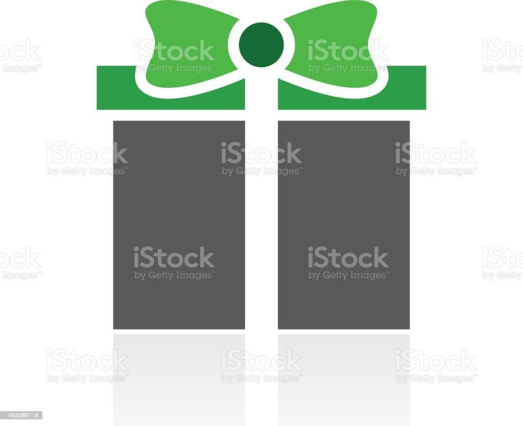 Gift Box icon on a white background. - FreshSeries vector art illustration