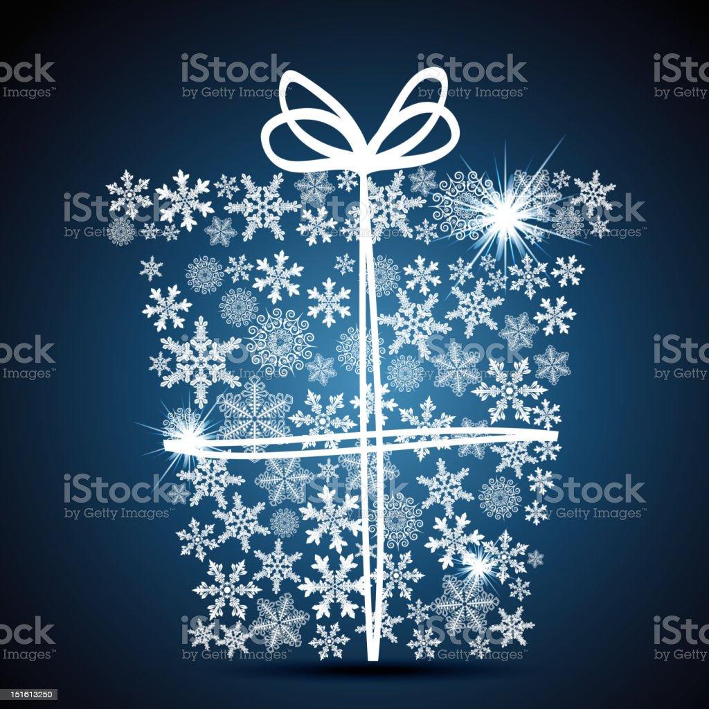 Gift box royalty-free stock vector art