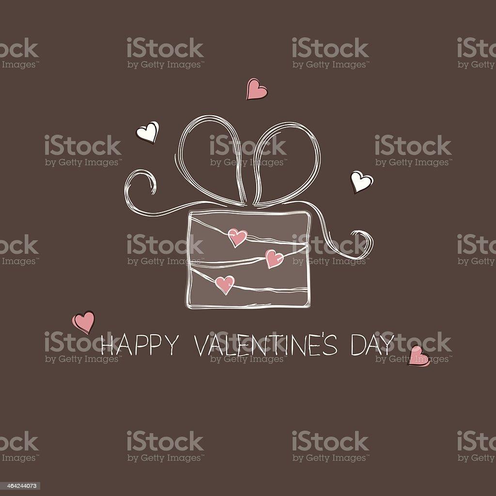 Gift box vector art illustration