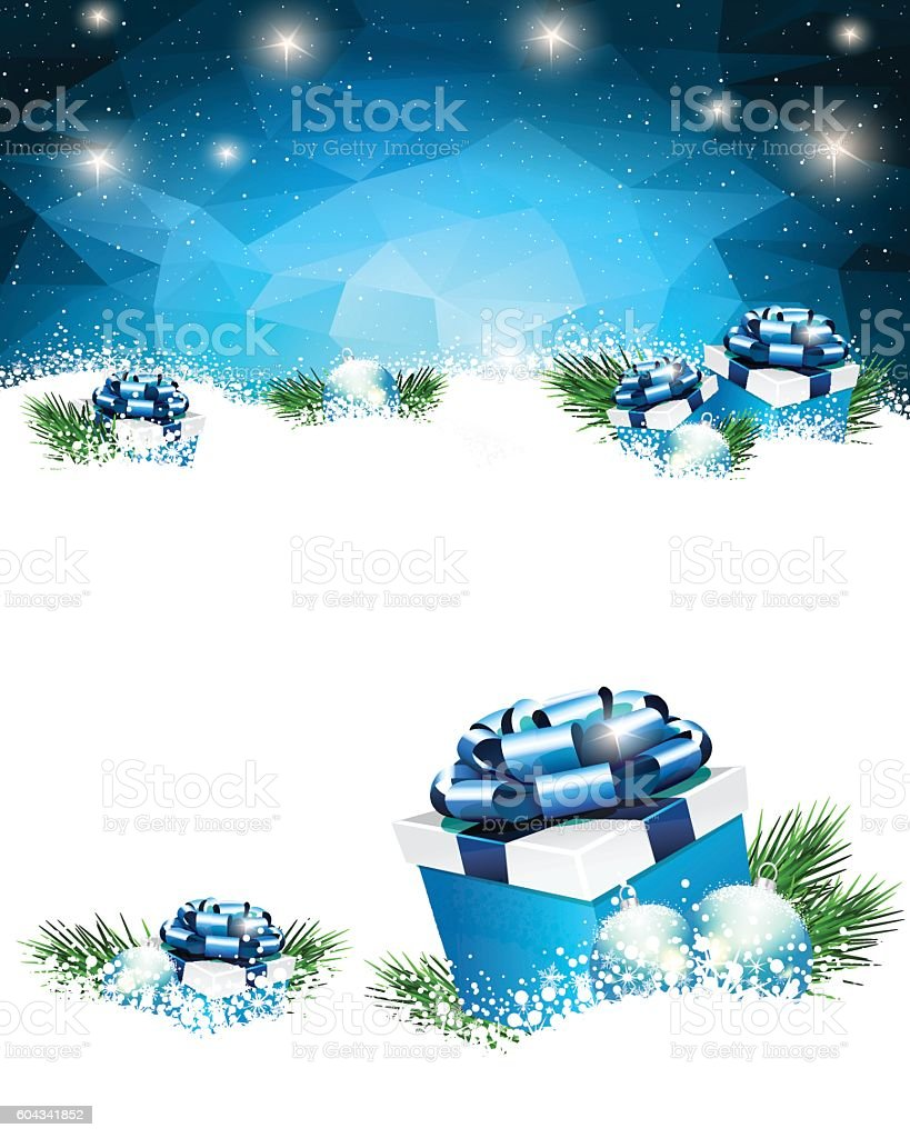 Gift Box vector art illustration