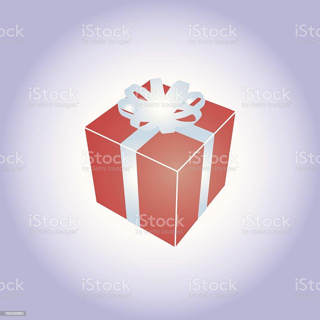 Gift box - vector royalty-free stock vector art