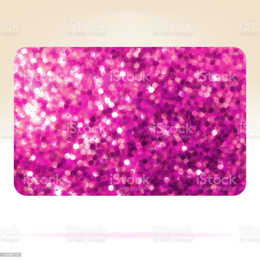 Gift card template design. EPS 8 royalty-free stock vector art