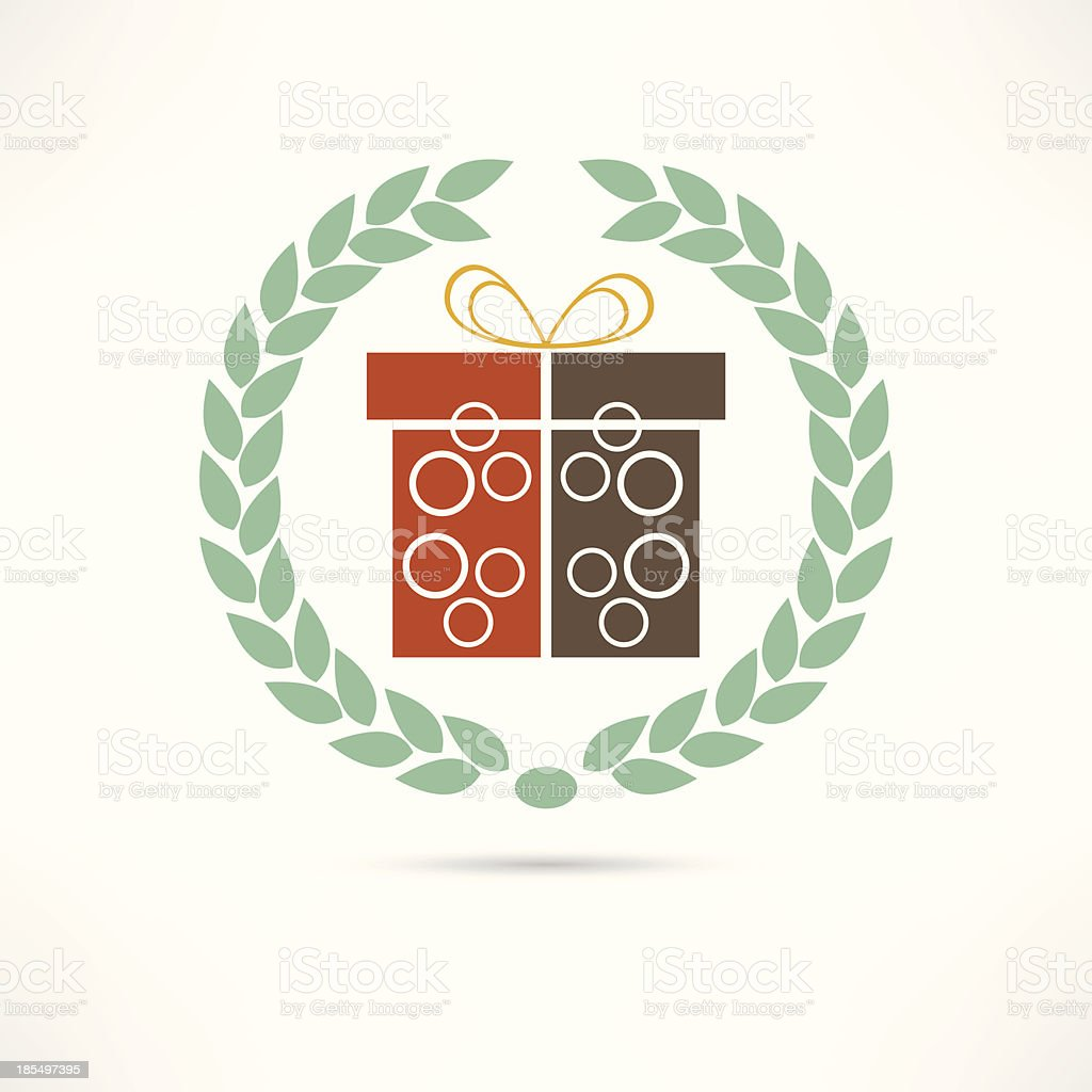gift icon royalty-free stock vector art