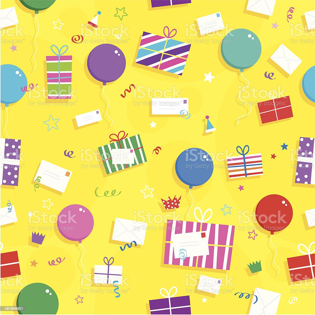 Gift Pattern royalty-free stock vector art