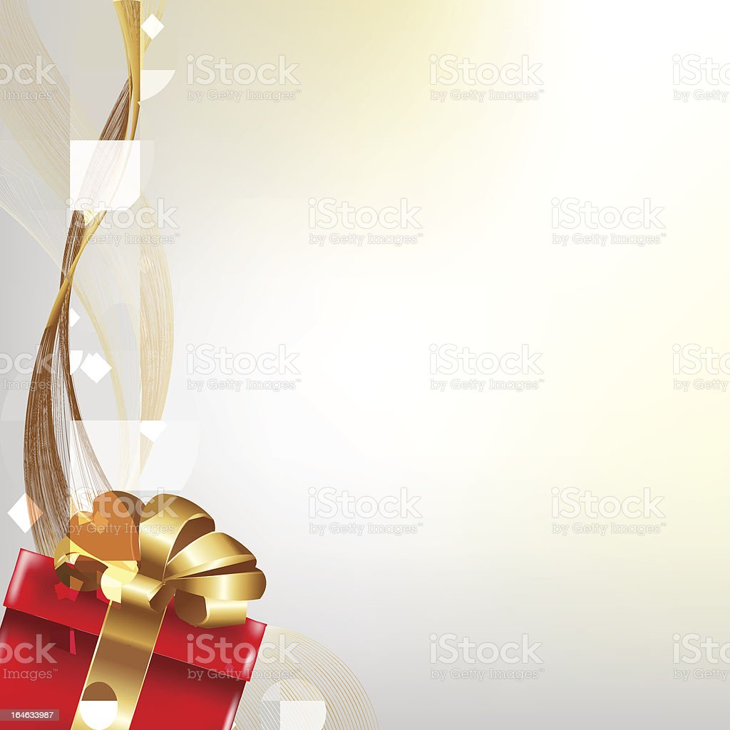 Gift Poster royalty-free stock vector art
