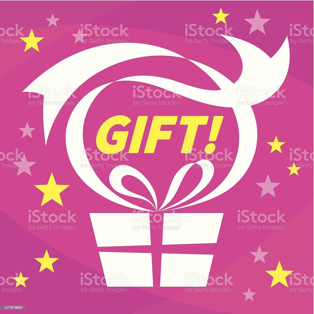 Gift - Present royalty-free stock vector art