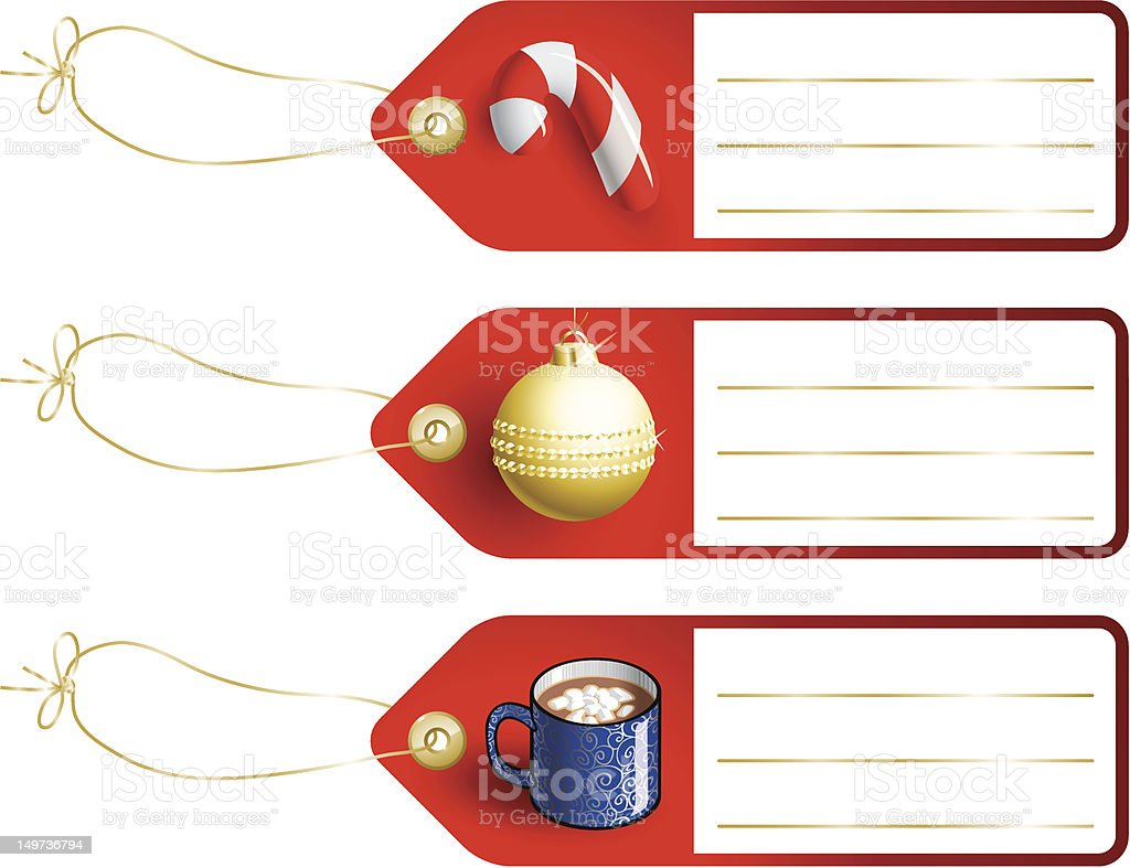 Gift Tags vol. 4 vector art illustration
