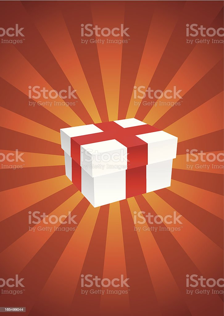 Gift royalty-free stock vector art