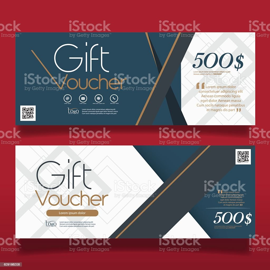 Free Voucher Design Template Sample Cover Letter Salary Gift Voucher Design  Vector Template Vector Id629186206 Free  Free Voucher Design Template
