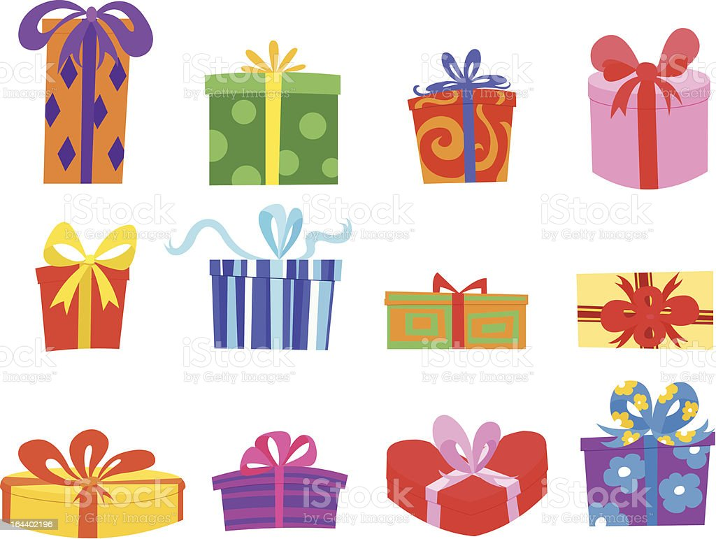 Gifts royalty-free stock vector art