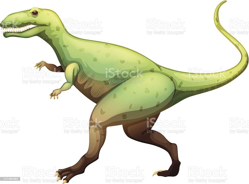 Giganotosaurus royalty-free stock vector art