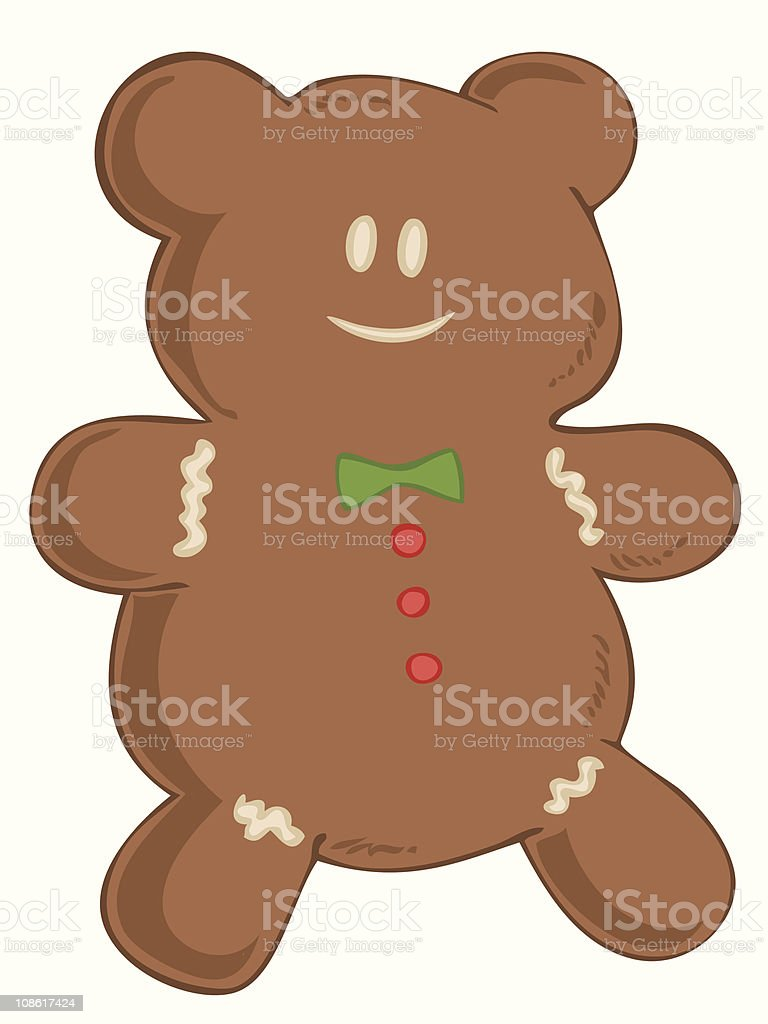 Gingerbread. royalty-free stock vector art