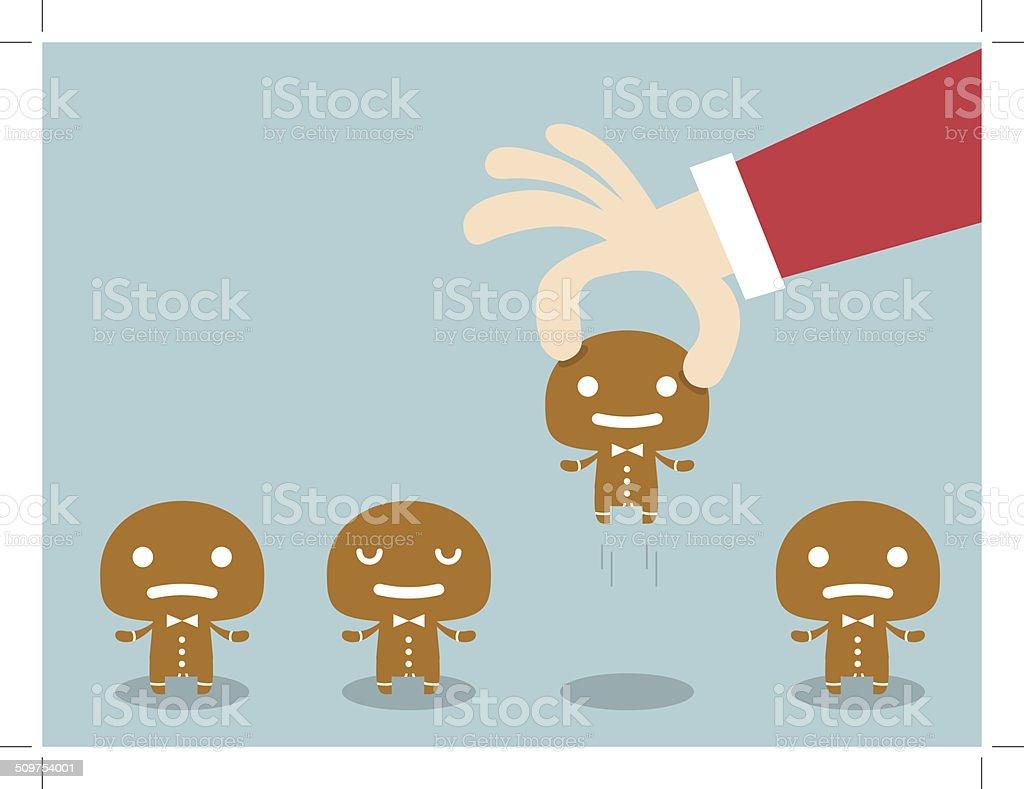 Gingerbread royalty-free stock vector art