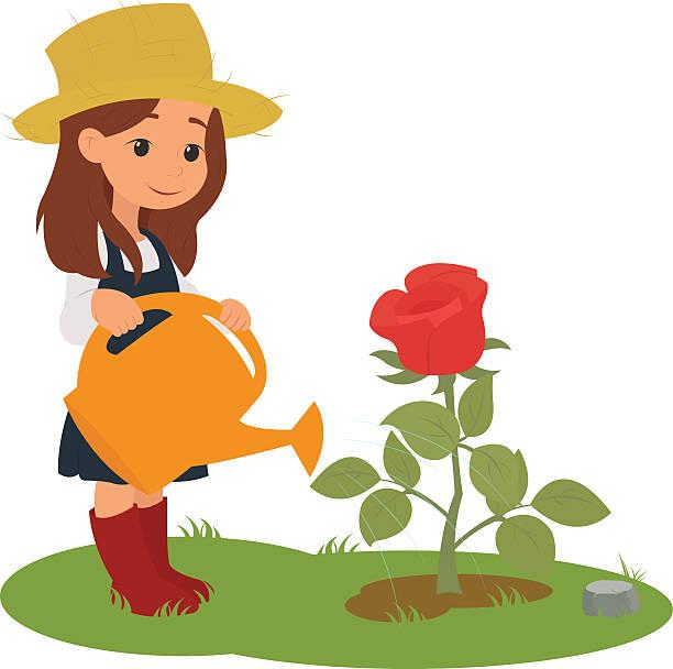 watering flowers clipart - Jaxstorm.realverse.us