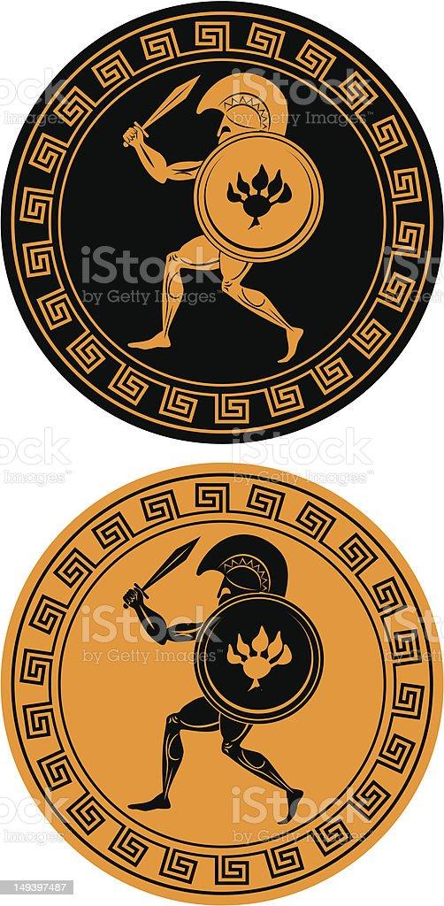 gladiator royalty-free stock vector art