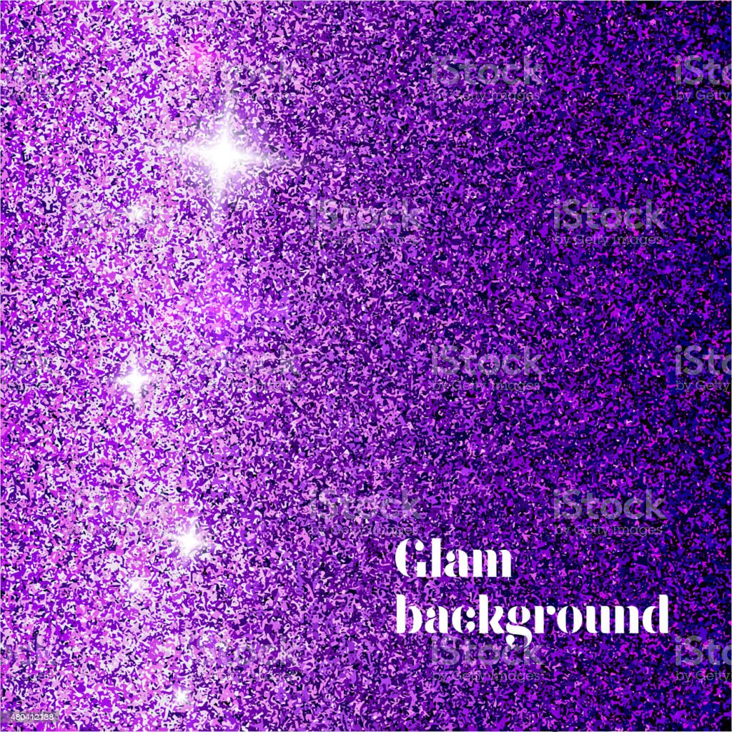 glam background vector art illustration