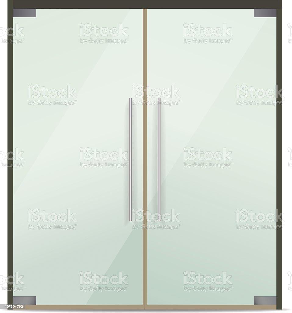 Glass Doors Clipart office building door clip art, vector images & illustrations - istock