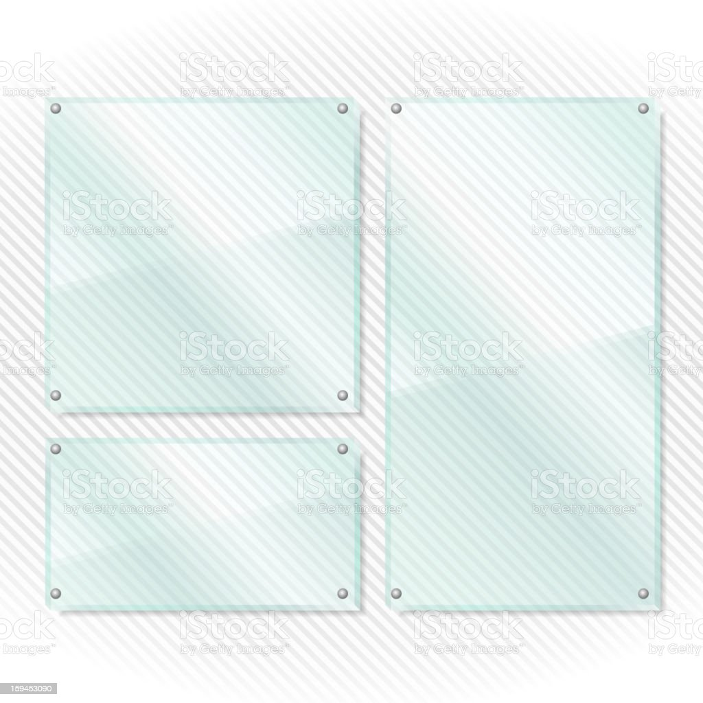 Glass Frames royalty-free stock vector art