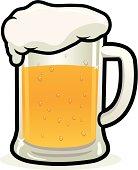 Cartoon Mug Of Beer Stock Photos FreeImagescom