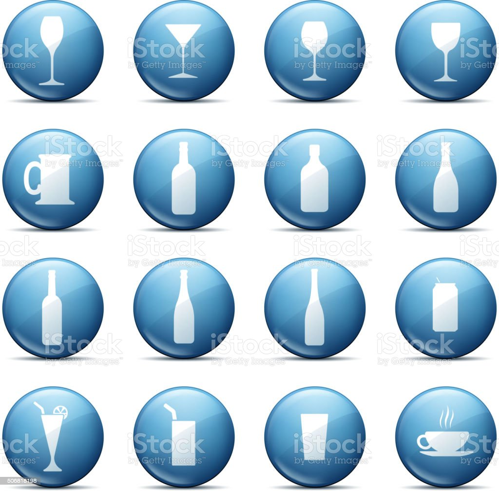 glass symbol vector art illustration