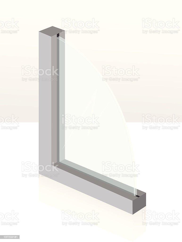 glass tissue royalty-free stock vector art