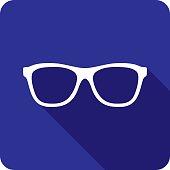 Glasses Icon Silhouette