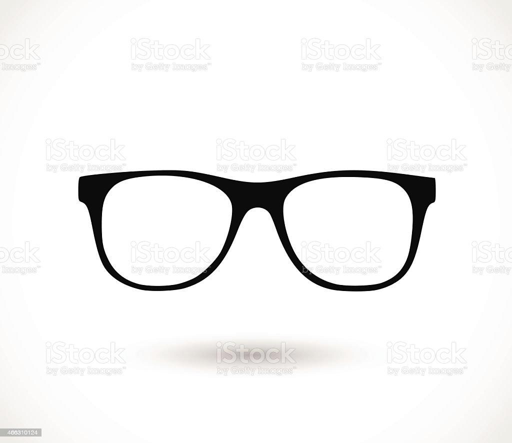 Glasses icon vector illustration vector art illustration