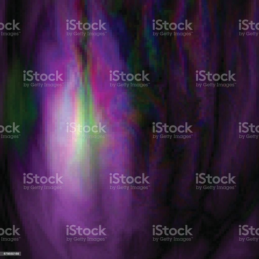 Glitch. Abstract background. Alien texture or Space, alien planet. Vector Illustration vector art illustration