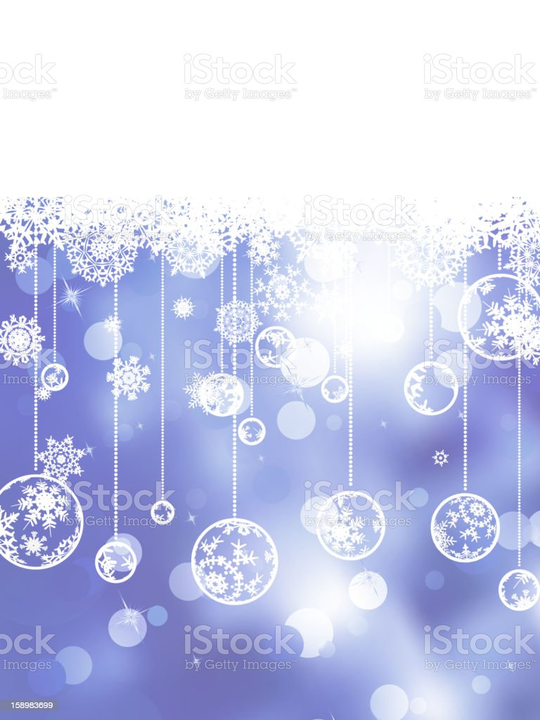 Glittery blue Christmas background. EPS 8 royalty-free stock vector art