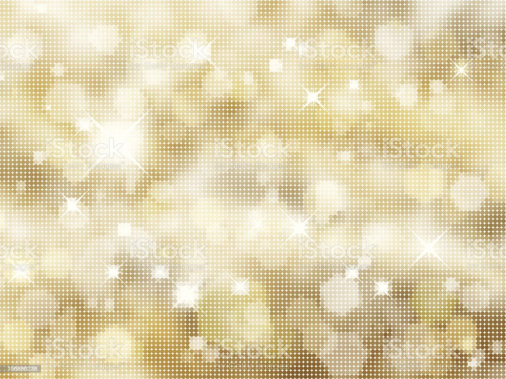 Glittery gold background royalty-free stock vector art