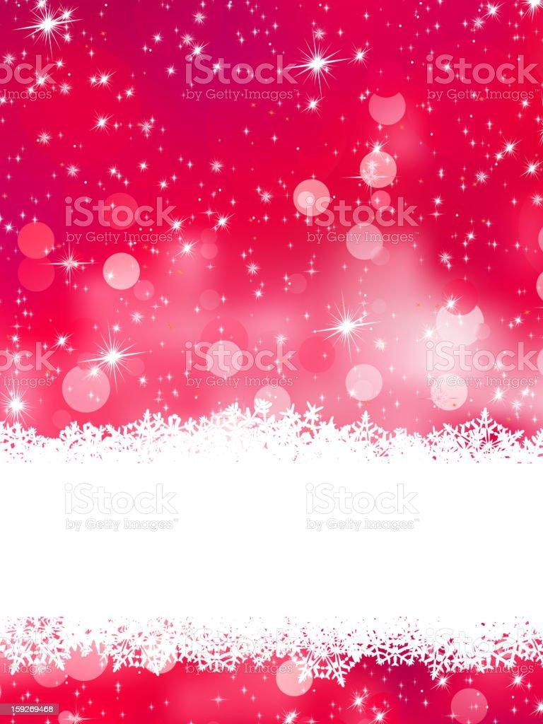 Glittery pink Christmas background. EPS 8 royalty-free stock photo