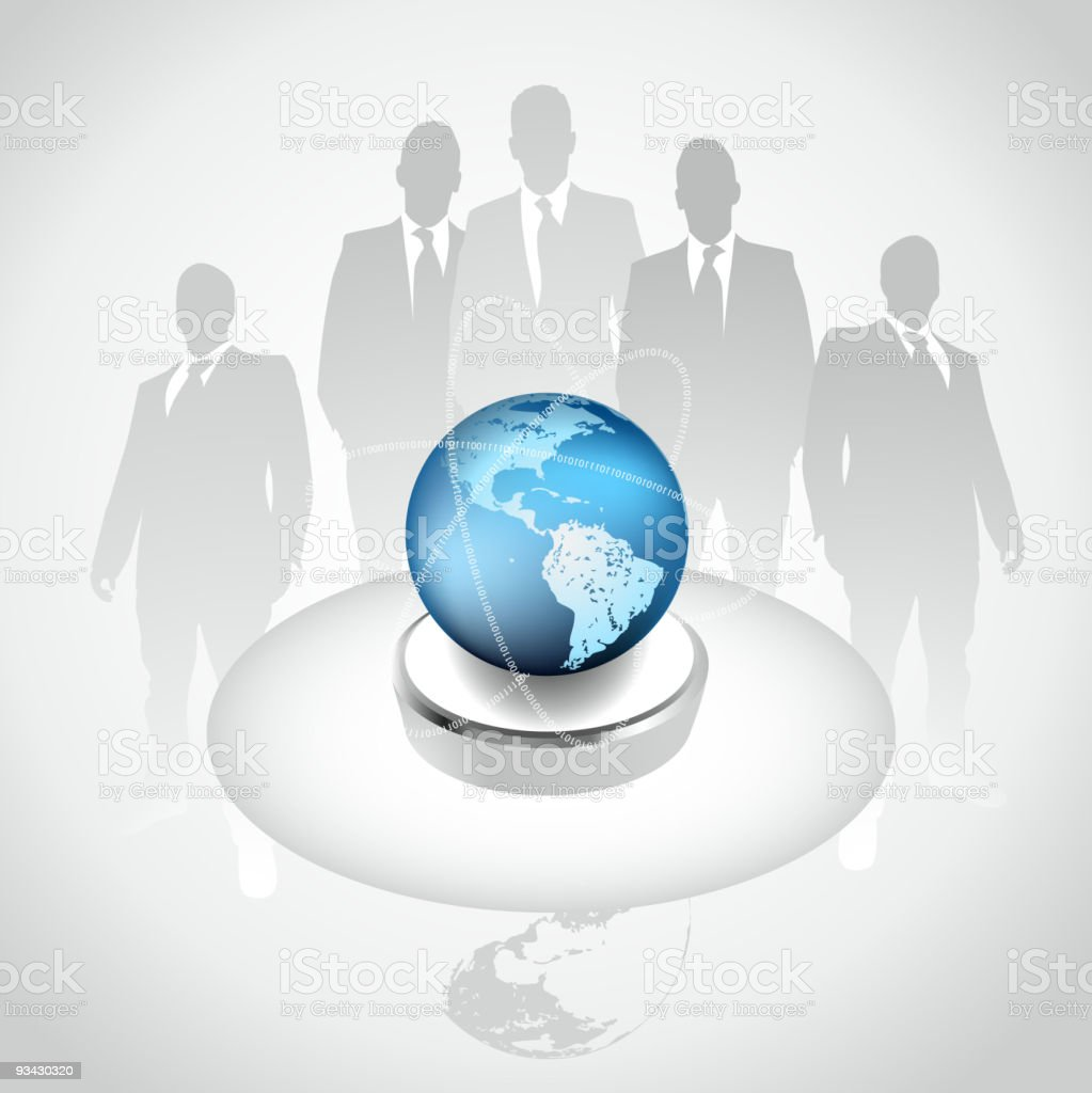 Global Business Concept - Premium Edition royalty-free stock vector art