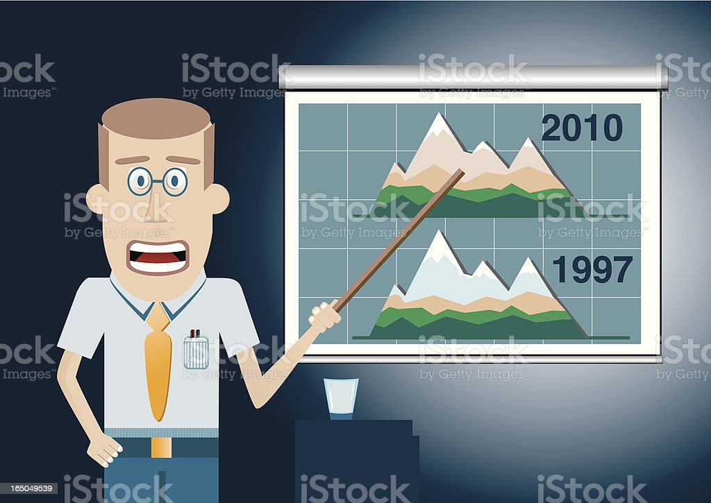 Global Change Conference royalty-free stock vector art