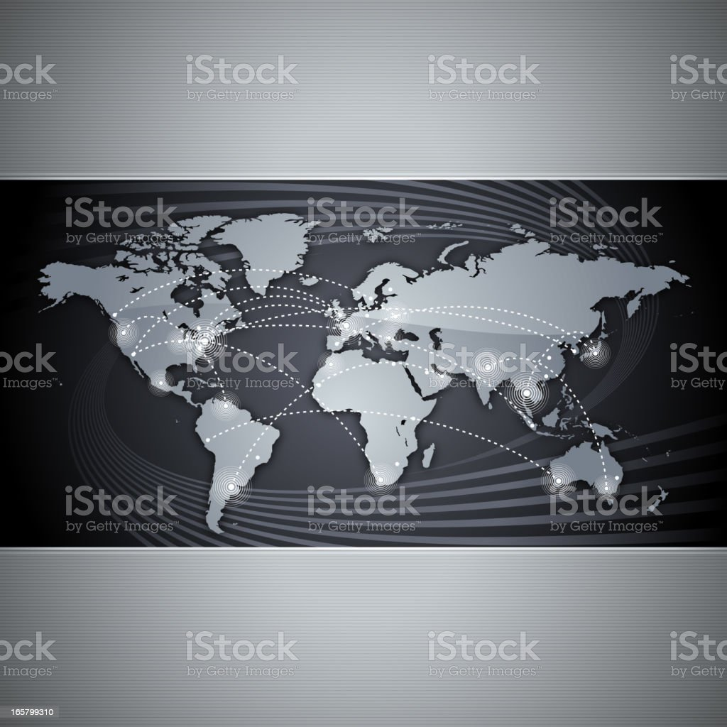 Global communication background royalty-free stock vector art