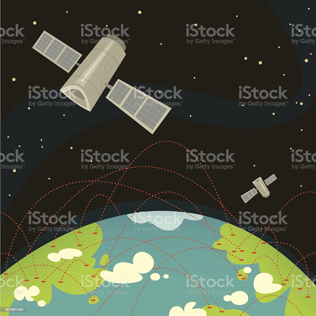 Global Communication royalty-free stock vector art