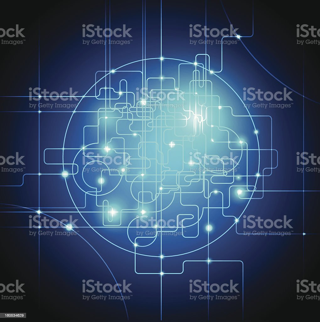 Global Connections Abstract Business Background royalty-free stock vector art